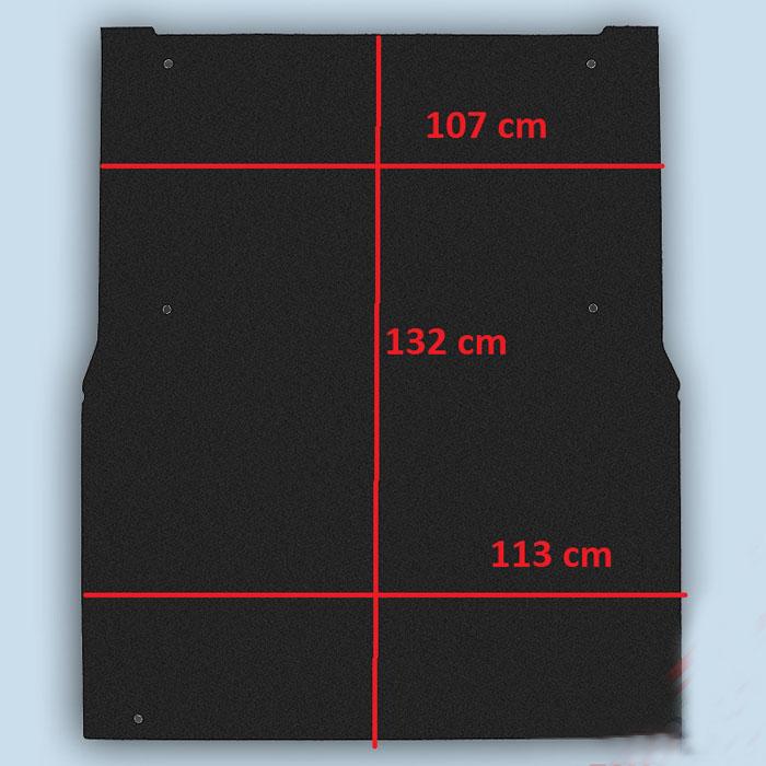 dimensions plancher Fiat Fiorino