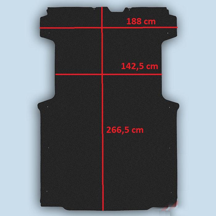 dimensions plancher Fiat Ducato L1