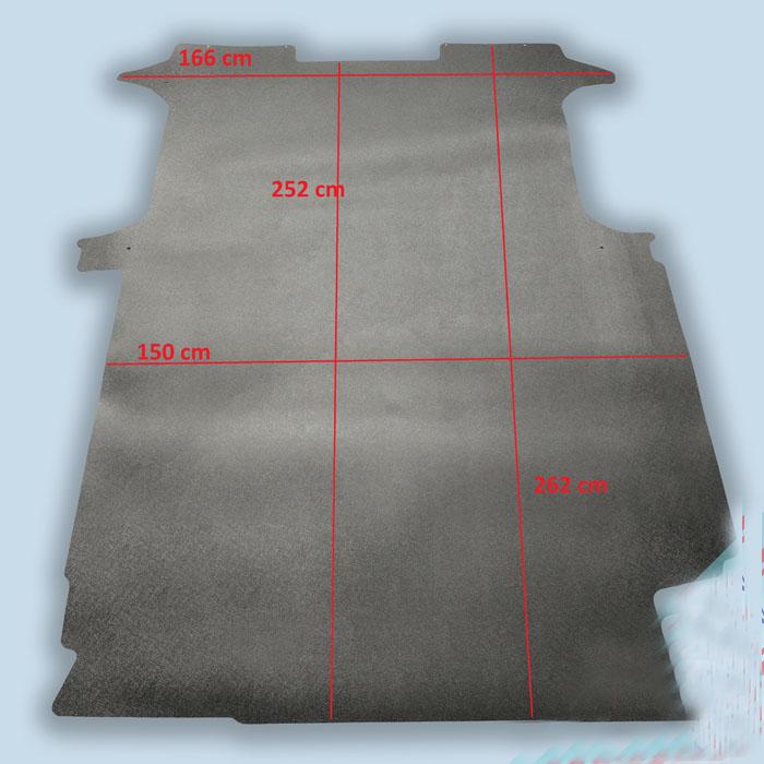 dimensions plancher mercedes vito compact