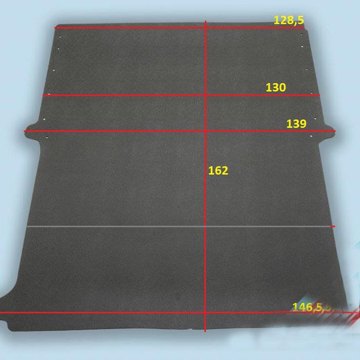 dimensions plancher Renault Kangoo