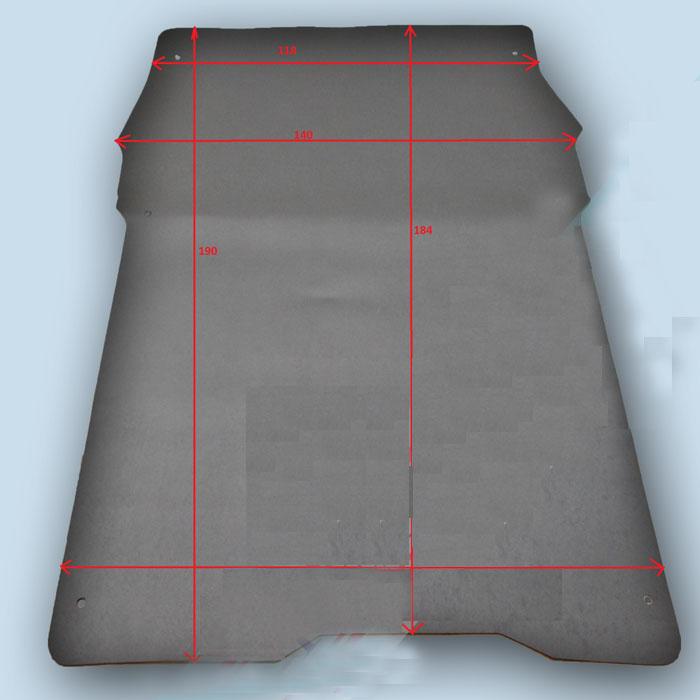 dimensions plancher Peugeot Partner