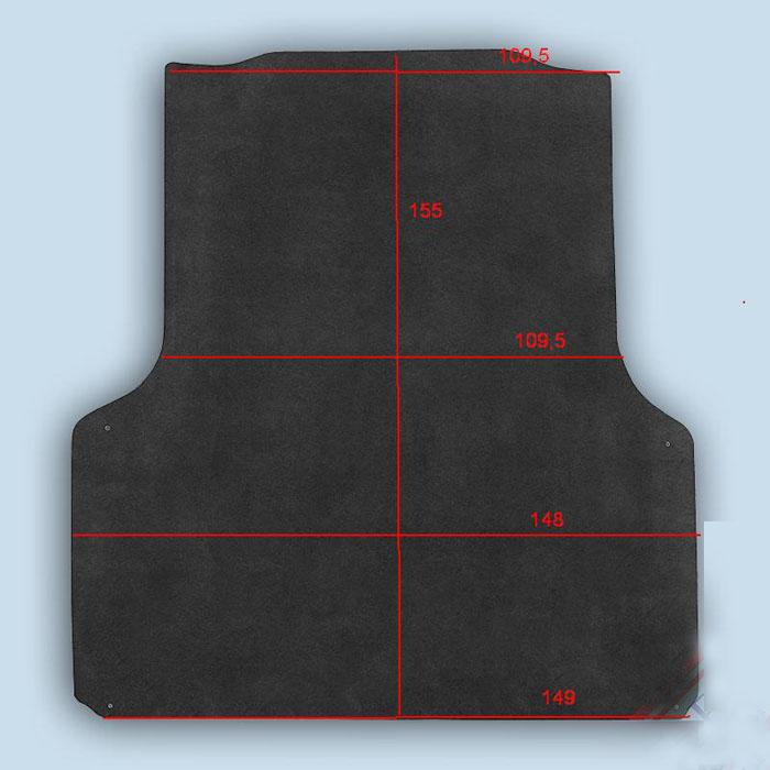 dimensions plancher Isuzu D-Max